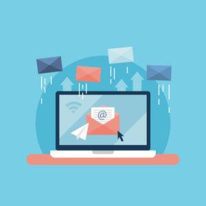 rédaction des emails et newsletter